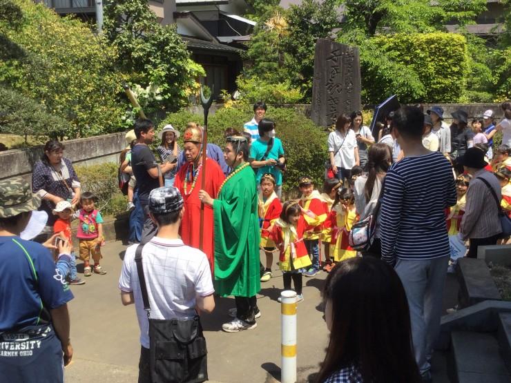 玄奘三蔵法師塔への出発前です