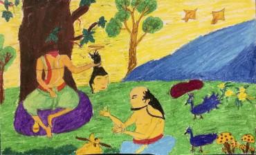 スリランカの奨学生から スリーサンガボー王