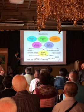 健康講演会 認知症とは何かをご説明頂きました