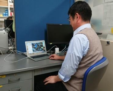 PCを立ち上げると福性寺のホームページ