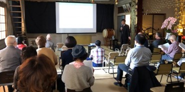 新開省二先生の講演