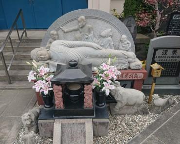 福性寺の涅槃像です