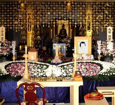 平成23年2011年母雅子の葬儀